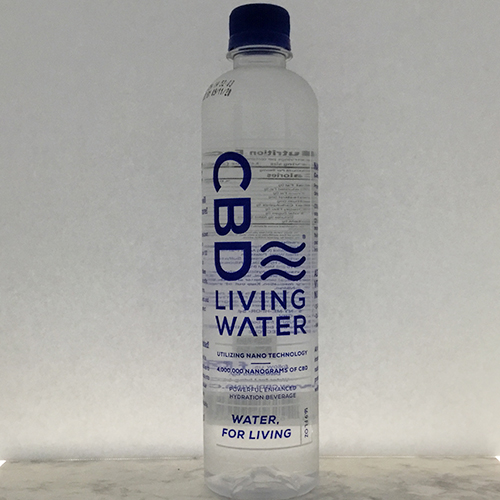 CBD Living Water - 4 million Nanograms of CBD, 16 9 FL OZ
